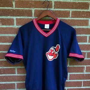 Vintage Cleveland Indians baseball jersey